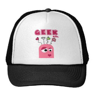 geek_girl trucker hat