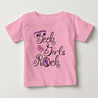 Geek Girls Rock Baby T-Shirt