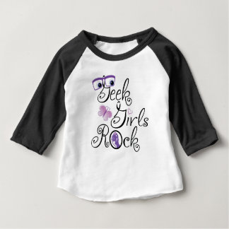 Geek Girls Rock Baby T-Shirt