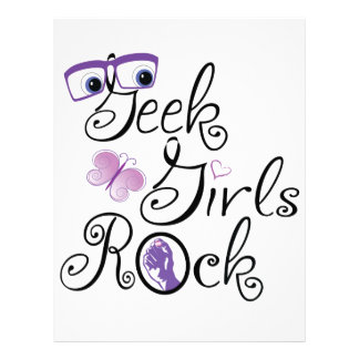 Geek Girls Rock Letterhead