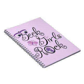 Geek Girls Rock Notebooks