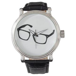 Geek glasses watch