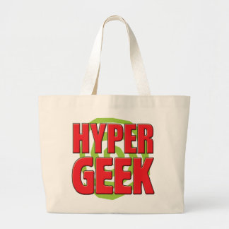 Geek hyper sacs de toile