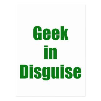 Geek in Disguise Postcard