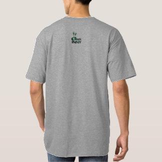 Geek In NY T-Shirt For Men   Back Logo