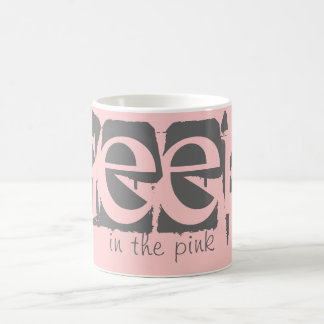 Geek In The Pink Customizable Mug Basic White Mug