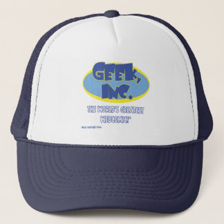 Geek, Inc. Comic Trucker Hat