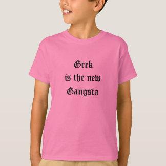 Geek is the new Gangsta Girls T-Shirt