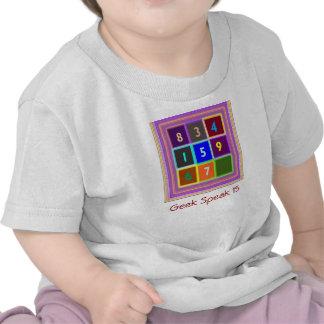 GEEK : Jeux de jeu-concours pour des enfants T-shirt