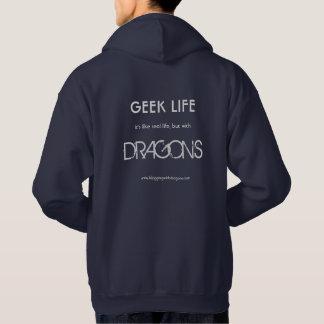 Geek Life - Kelvin the Dragon Hoodie
