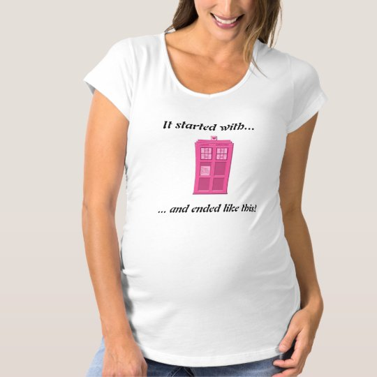 Geek Love Doctor strikes again Maternity T-Shirt