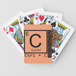 Geek Me! Carbon Copy Bicycle Playing Cards