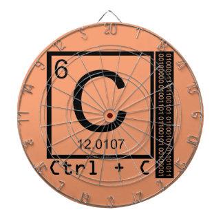 Geek Me! Carbon Copy Dartboard