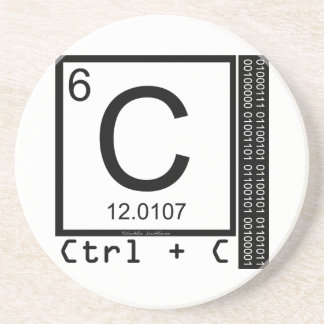 Geek Me! Carbon Copy Drink Coasters