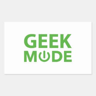 Geek Mode Sticker