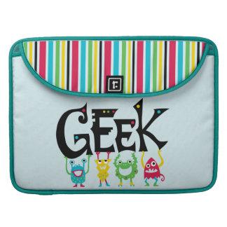 Geek Monsters Sleeve For MacBooks