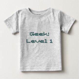 Geek : Niveau 1 Tee-shirt