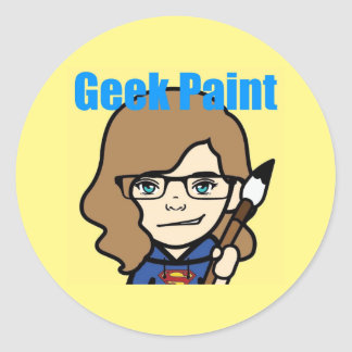 Geek Paint Stickers
