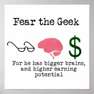 Geek! Poster