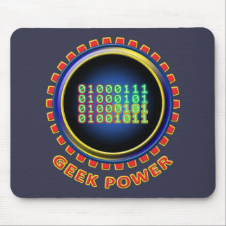 Geek Power Mouse Pad