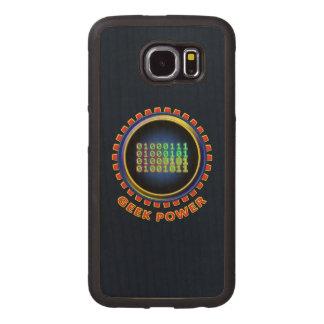 Geek Power Wood Phone Case