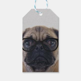 Geek Pug Gift Tags