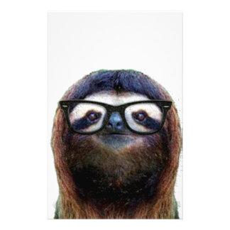 Geek Sloth Customized Stationery