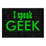 Geek speak 2