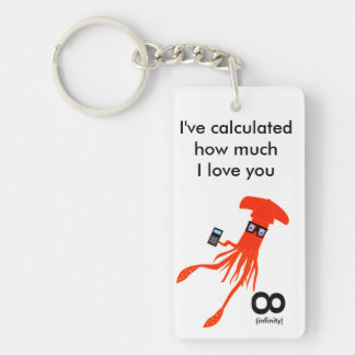 Geek Squid Keychain