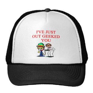 GEEK TRUCKER HAT
