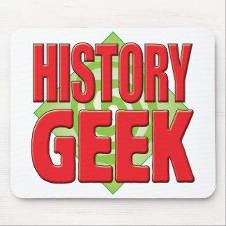 Geek v2 d histoire tapis de souris