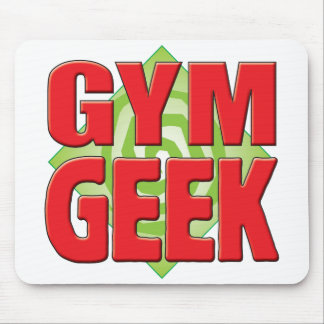 Geek v2 de gymnase tapis de souris
