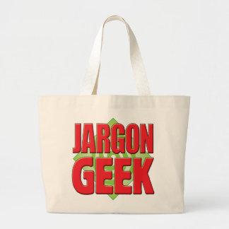 Geek v2 de jargon sac de toile