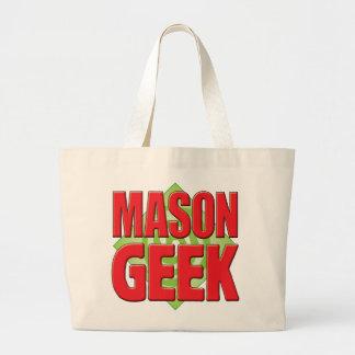 Geek v2 de maçon sacs fourre-tout