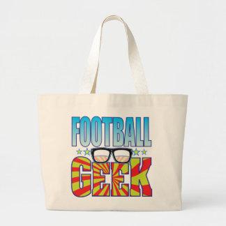 Geek v4 du football sacs de toile