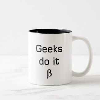 geek wear Two-Tone coffee mug