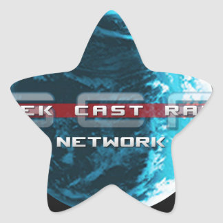 GeekCast Radio Network Star Sticker