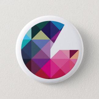 Geeked Logo Badge 2 Inch Round Button