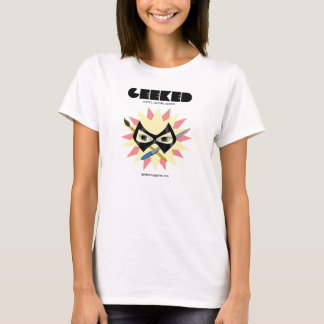 GEEKED Magazine- Mask Pen and Brush T-Shirt