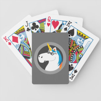 Geekicorn Bicycle Playing Cards