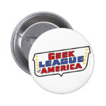 Geekl League of America Round Button