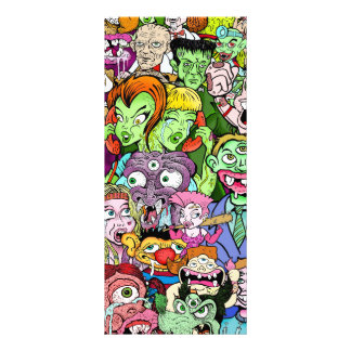 Geeks & Freaks Customized Rack Card