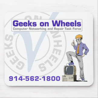 Geeks on Wheels Mouse Pad