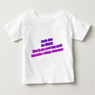 Geeks will Rule the World Baby T-Shirt