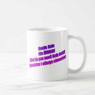 Geeks will Rule the World Basic White Mug