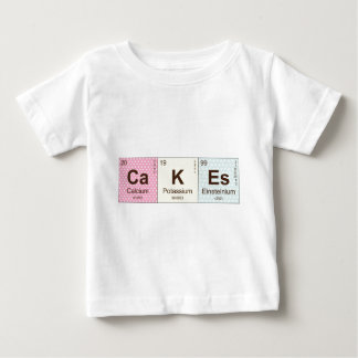 Geeky Cakes Periodic Elements Baby T-Shirt