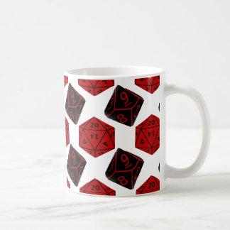 Geeky Dice Coffee Mug