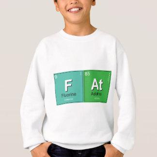 Geeky Fat Periodic Elements Sweatshirt