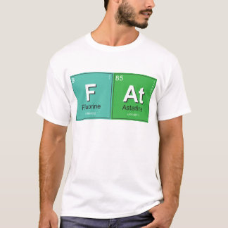 Geeky Fat Periodic Elements T-Shirt