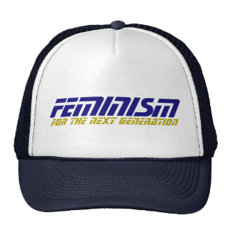 Geeky Feminist Trucker Hat